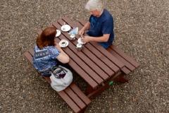 langholm tearoom outsideseating