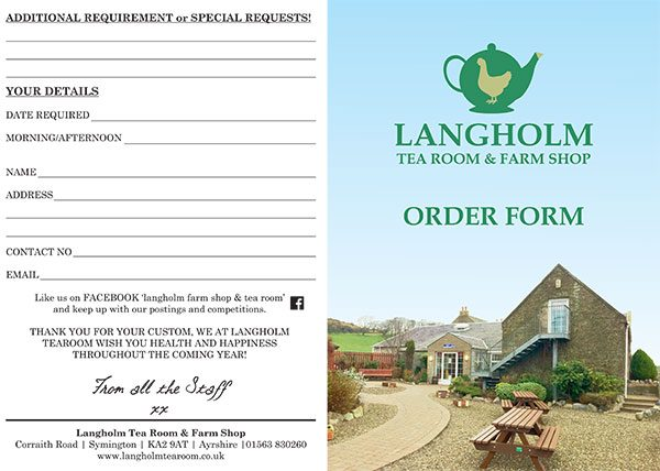 View & Download our web order form