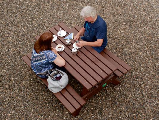 langholm tearoom outside seating